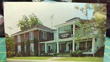 Vintage Postcard -  Mendenhall Hotel Home of the Revolving Tables - Dexter Press