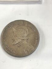 PANAMA 1 BALBOA SILVER CROWN 1934 nice original coin see the pictures