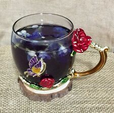 Organic Herbal Healthy Tea Blue Butterfly Pea Flowers Antioxidant Detox Fresh 50