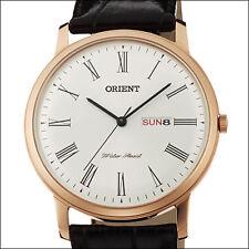 Orient White Capital 2 Quartz Dress Watch, 40.5mm Case, Dome Crystal #UG1R006W