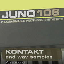 JUNO 106 SAMPLES for KONTAKT NKI + WAV 24BIT MAC PC MPC LOGIC FL CUBASE