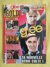 Lot  Special Glee + Gold Magazine # 3 + ONE N°69 Avril-Mai 2011
