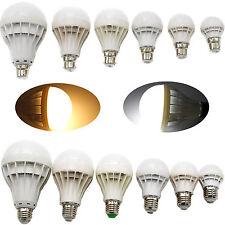 AC 240V  E27 B22 Bayonet Energy Saving Bulbs 3/5/7/9/12/15W LED Globe Light Lamp