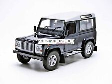 LAND ROVER DEFENDER 90 BLU SCURO DARK BLUE 1/18 UNIVERSAL HOBBIES 3888