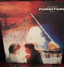 """12"""" Vinyl Record - Furniture - Slow Motion Kisses / Brilliant Mind - from 1989"""