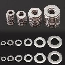 105x M3 M4 M5 M6 M8 M10 Stainless Steel Washer Metric Flat Screw Repair Kit Tool