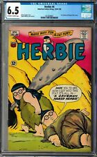 Herbie #6 CGC 6.5 (Dec-Jan 1965, ACG) The Fat Fury, Ogden Whitney cover and art
