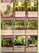 Warhammer 40000 Conquest LCG - Urien Rakarth + Squad - Descendants of Isha