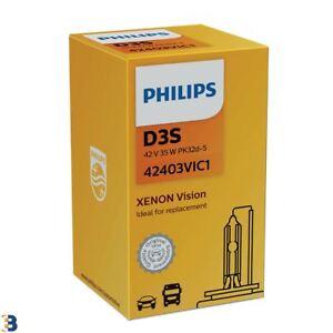 Philips D3S Vision Xenon Ersatzwagen Scheinwerfer Glühlampe 42403VIC1 HID Single