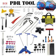 PDR Rods Tools Car Body Dent Paintless Repair Tools Glue Gun+Hammer+Dent Lifter