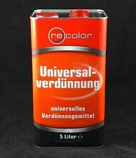 (2,40-2,25?/L)  Universalverdünnung 5 Liter Verdünnung Verdünner Pinselreiniger