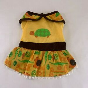 Casual Canine Dog Turtle Dress X Small