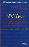 Libro - Cristina Volpi - Bilanci e veleni - cop. morbida | buono