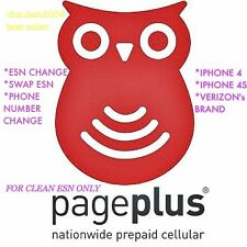 PAGE PLUS ESN CHANGE, SWAP or PHONE NUMBER CHANGE IPHONE VERIZON ASAP .