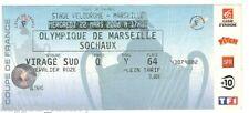 Billet  / Place  OM Olympique de Marseille - OM vs FC Sochaux  ( 064 )