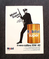 I924- Advertising Pubblicità -1967- MOBIL , MISTER SUPEROIL