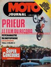 MOTO JOURNAL  302 HONDA 50 Camino MOTOBECANE H VLC PEUGEOT 103 VS Alain PRIEUR