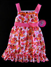 NWT: New So Cute & Flowy ZOEY GIRL Size 5 Pink Flower Spring Event Dress