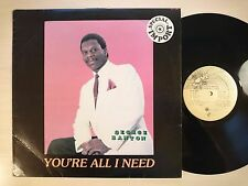 George Banton - You're All I Need (Soul/Contemporary R&B, LP)