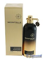 Montale Intense Black Aoud By Montale  Extrait De Parfum Spray 3.4/3.3 oz New