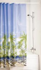 Rideau de douche Palmiers 180 x 200 Cloison SALLE BAIN TISSU