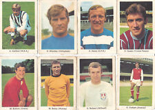 New listing IPC Trade Cards issued by TIGER - MY FAVOURITE SOCCER STARS - part set: 8 cards