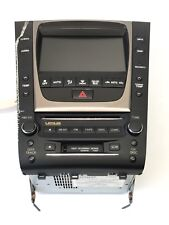 2006 LEXUS GS300 CD PLAYER ASSEMBLY USED OEM