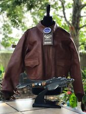 Buzz Rickson Clothing Co. Bomber A2 Leather W535AC18091 Italian Horsehide 42