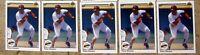 Tony Gwynn   San Diego Padres 1990 Upper Deck #344   5ct Card Lot