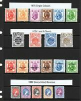 COLLECTION OF 21x GERALD KING 'ALTERNATIVE LUNDY' FANTASY STAMPS