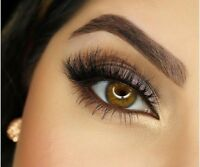 3D Mink False Eyelashes, Layered Wispy Lashes-Long Party Fluffy (Lilly/Miami) hi