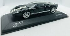 Minichamps 1/43 2003 Ford GT, Black with White Stripes 400082322