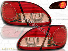 03 04 05 06 07 08 Toyota Corolla Red Clear LED Tail Lights