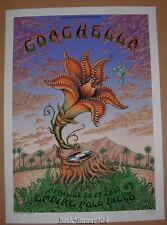 Emek Coachella Music Festival Poster Print Signed Numbered Art 2007