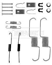 Brake Shoe Fitting Kit fits SUZUKI JIMNY SN413 1.3 Rear 1998 on B&B 2280743000