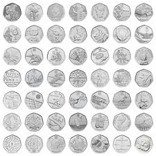 More details for 50p coins fifty pence kew gardens olympics beatrix potter choose your coin