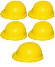 5 x ANTI-STRESS RELIEVER, STRESSBALL, CONSTRUCTION HARD HAT, BUILDER, ARTHRITIS