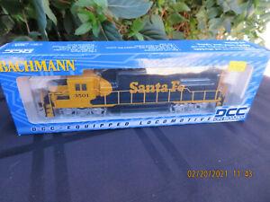 Bachmann # 60302 Santa Fe locomotive With DCC