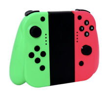 JALVDE for Nintendo Switch (L/R) Wireless Bluetooth Controllers Set - Pink/Green