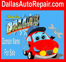 Dallas Auto Repair .com  Domain Name For Sale URL Brand Your  Biz Easy To Say