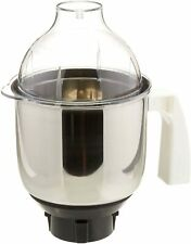 MGA 513 Mixer Jar for Eco Twin Eco Plus/Chef Pro and Blue Leaf,1.50 Liter Silver