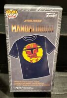 Walmart Exclusive Funko POP Tees Star Wars The Mandalorian w/ Child Size Large