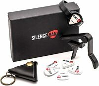 SILENCEBAN Acoustic Electric Guitar Accessories Kit With Capo Picks *BRAND NEW*