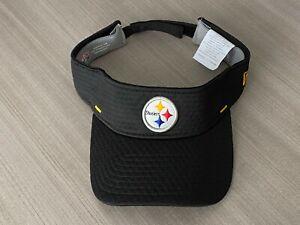 Pittsburgh Steelers New Era Adjustable Visor