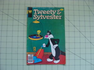 1979 WHITMAN COMIC BOOK TWEETY AND SYLVESTER
