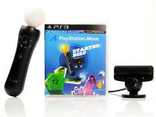 Ps3 juego move Starter-Pack-Disc-incl. move-Motion Controller & Eye-cam alemán B