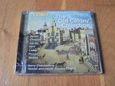 The Old Colony Collection - Avison, Chapple, Handel -  Christophers CD Coro NEW