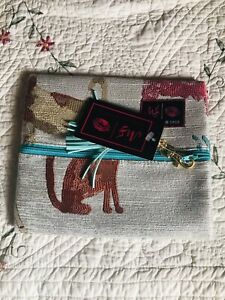 Small Makeup Junkie Bag Dogs