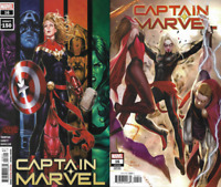 2020 Marvel Comic Captain Marvel #16 Main & Lee Inhyuk Variant Covers 1st Print