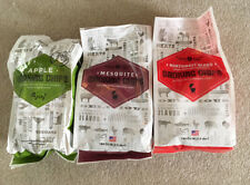 3 Wildwood Grilling Bags of New Smoking Chips Apple Mesquite and Blend Chips